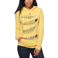 Glamour Kills Just Like A Dream Yellow Pullover Hoodie at Zumiez : PDP
