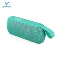 LYMOC 6W Fabric Bluetooth Speakers Portable Wireless Sound Box Subwoofer With HD Mic V4.2 MP3 Player U-Disk AUX for All Phones