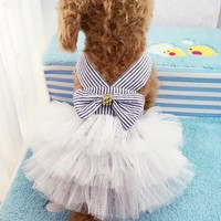 Puppy Skirt Pet Clothes for Small Dog Chihuahua Teddy Poodles #3