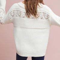 Cindy Balloon-Sleeve Pullover
