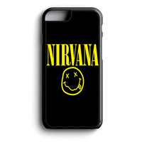 nirvana logo cover black iPhone 4s iPhone 5 iPhone 5c iPhone 5s iPhone 6 iPhone 6s iPhone 6 Plus Case | iPod Touch 4 iPod Touch 5 Case