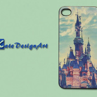 iphone 4 case, iphone 4s cover case iphone case/iphone cover - beautiful castle