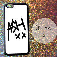 White 5 Sos Ashton Irwin Signature - cover case for iPhone 4|4S|5|5C|5S|6|6 Plus Note 2|3 Samsung Galaxy S3|S4|S5 Htc One M7|M8