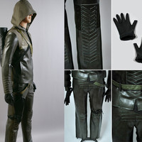 Oliver Costume, Oliver Queen Costume, Green Arrow Costume