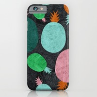Pineapple Lovers iPhone & iPod Case by Susana Paz