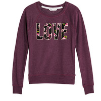 Graphic Fleece Pullover - Victoria's Secret