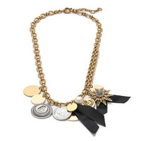 J.Crew Womens Mixed Charm Necklace