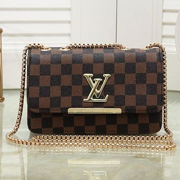 Louis Vuitton LV Women Fashion Leather Handbag Crossbody Shoulder Bag Satchel