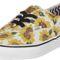 Vans Authentic(Sunflower)True White