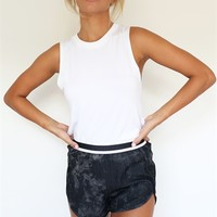 Dusted Shorts - Black | SABO SKIRT