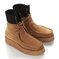 Indie Designs Alexander Wang Inspired Suede Leather Selma Boots