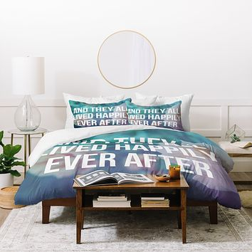 Leah Flores Ever After Duvet Cover