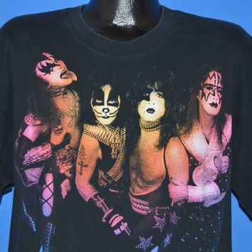 90s Kiss They're Back Alive 1996 Tour t-shirt Extra Large
