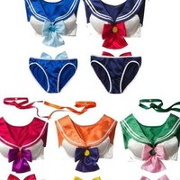 In The Style of Sailor Moon Bikini - 5 Colors