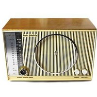 Vintage 1950's Zenith High Fidelity AM/FM/FMC Tube Radio S-46351 TESTED (WORKS)