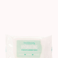 FOREVER 21 Travel Size Hydrating Cleansing Tissues Blue/White One