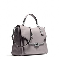 Coach :: MADISON SMALL SADIE FLAP SATCHEL IN LEATHER