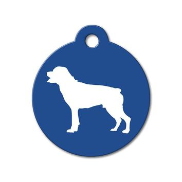 Rottweiler - Silhouette Pet Tag