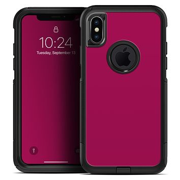 Solid Dark Pink V2 - Skin Kit for the iPhone OtterBox Cases