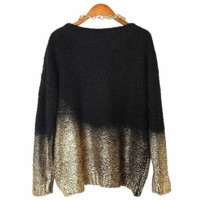 Comfortable Lightweight Baggy Knited Pullover Sweater