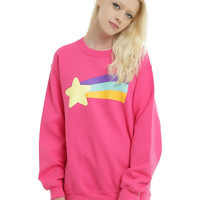 Disney Gravity Falls Mabel's Rainbow Star Sweater Pullover