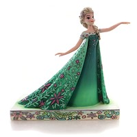 Jim Shore CELEBRATION OF SPRING Polyresin Frozen Fever Elsa Disney 4050881