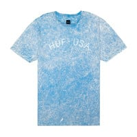 Huf: HUF USA Washed Shirt - Light Blue