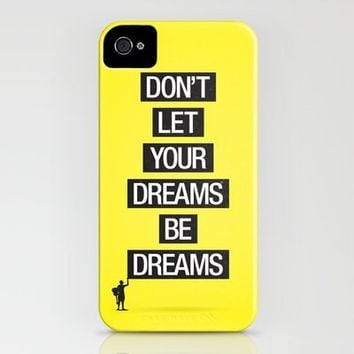 Dreams Be Dreams iPhone Case by Davies Babies | Society6