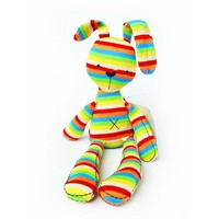 baby rabbit toy baby bed Stroller Hanging Rattle Plush Soft musical mobile toy Carriages