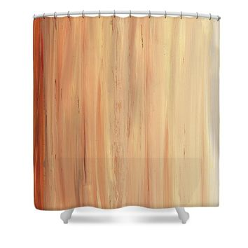Modern Art - The Power Of One Panel 2 - Sharon Cummings Shower Curtain