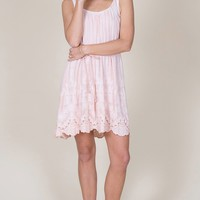 Maura Embroidered Dress