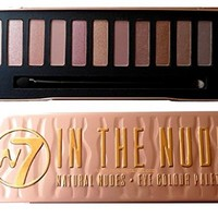 W7 Natural Nudes Naked Eye Colour Palette New