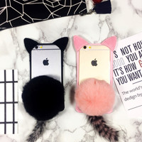 Phone Iphone Rabbit Apple Soft Phone Case