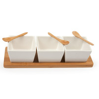 Core Bamboo: 3-Part Square Entertainment Set, at 60% off!