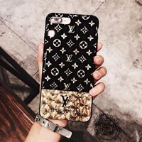 Perfect LV Retro Fashion Print  iPhone Phone Cover Case For iphone 6 6s 6plus 6s-plus 7 7plus