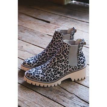 Preston Perforated Booties, Leopard | Coconuts by Matisse