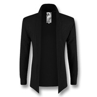 Men Cardigans Jackets Coats Men's Casual Slim Fit Long Sleeved Cardigans Jackets Clothing Outwear Coats SM6