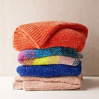 Chenille Knit Sweater Throw Blanket | Urban Outfitters