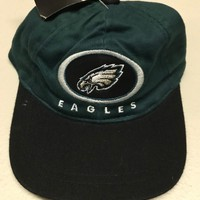 PHILADELPHIA EAGLES INFANT GREEN AND BLACK EMBROIDERED LOGO HAT SHIPPING