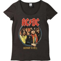 AC/DC  Highway To Hell Junior Top Charcoal