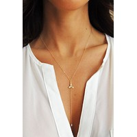 Blossoms Lariat Y-Necklace - Christine Elizabeth Jewelry