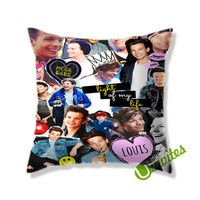 Louis Tomlinson Square Pillow Cover