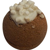 Hot Cocoa Scented Bath Bomb, Made with Chocolate and Marshmallows, By Diva Stuff