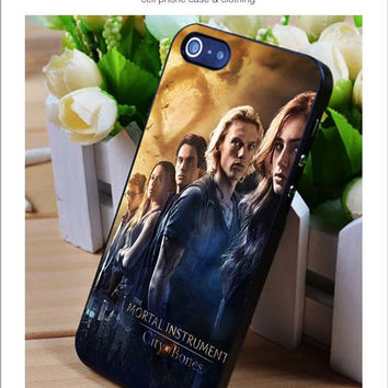 The mortal instrument iPhone for 4 5 5c 6 Plus Case, Samsung Galaxy for S3 S4 S5 Note 3 4 Case, iPod for 4 5 Case, HtC One for M7 M8 and Nexus Case