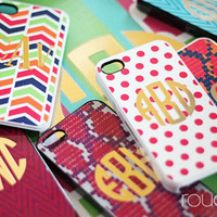 iPhone cover  METALLIC COLLECTION  snapon plastic by rougeandco