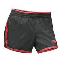 Women's Reflex Core Shorts in Asphalt Grey/Cayenne Red by The North Face