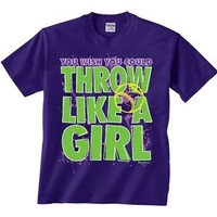 Softball Throw Like a Girl