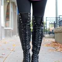 Want It All Boots -Black