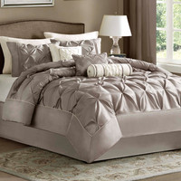 Madison Park Leanne 7 Piece Comforter Set