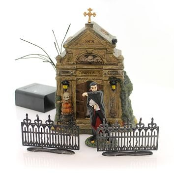 Department 56 Accessory REST IN PEACE 2017 Halloween Village Crypt 4059393